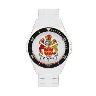 Escudo de la familia de O Harkins Reloj