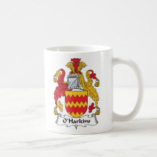 Escudo de la familia de O Harkins Tazas