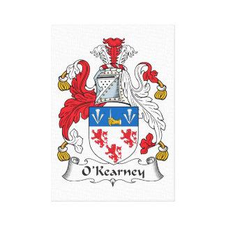 Escudo de la familia de O Kearney Impresiones En Lona Estiradas