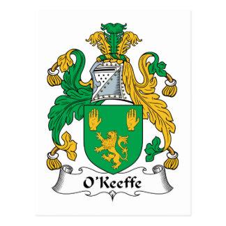 Escudo de la familia de O Keefe Postal