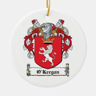 Escudo de la familia de O Keegan Adorno De Reyes