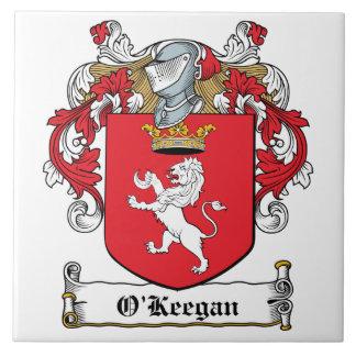 Escudo de la familia de O Keegan Azulejo