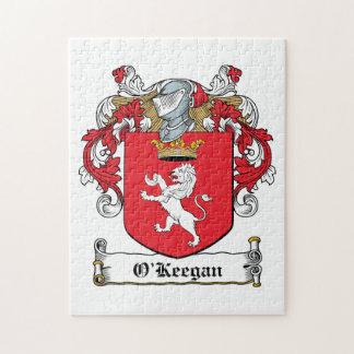 Escudo de la familia de O Keegan Puzzles