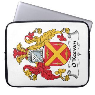 Escudo de la familia de O Keevan Funda Portátil