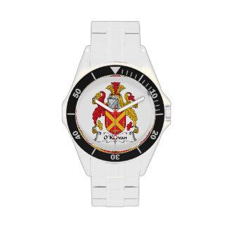 Escudo de la familia de O Keevan Relojes De Mano