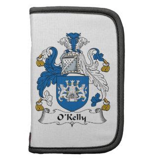 Escudo de la familia de O Kelly Planificador