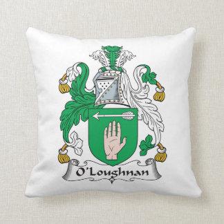 Escudo de la familia de O Loughnan Cojin