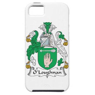 Escudo de la familia de O Loughnan iPhone 5 Case-Mate Cárcasa