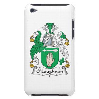 Escudo de la familia de O Loughnan iPod Touch Case-Mate Cárcasa