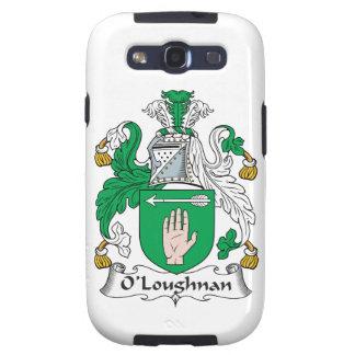 Escudo de la familia de O Loughnan Samsung Galaxy S3 Cárcasa