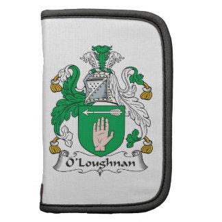 Escudo de la familia de O Loughnan Planificadores