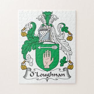 Escudo de la familia de O Loughnan Rompecabezas