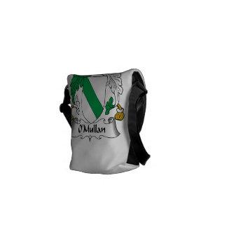 Escudo de la familia de O Mullan Bolsa De Mensajería