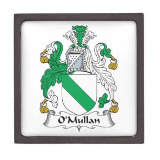 Escudo de la familia de O Mullan Caja De Joyas De Calidad