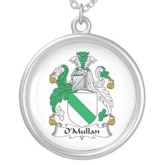 Escudo de la familia de O Mullan Collar Personalizado