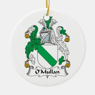 Escudo de la familia de O Mullan Ornamentos De Reyes