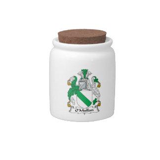 Escudo de la familia de O Mullan Platos Para Caramelos