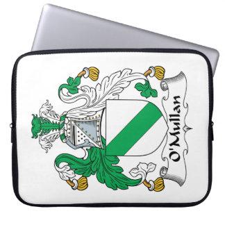 Escudo de la familia de O Mullan Funda Computadora