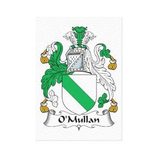 Escudo de la familia de O Mullan Impresiones En Lona