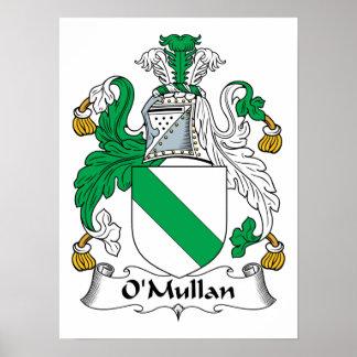 Escudo de la familia de O Mullan Poster