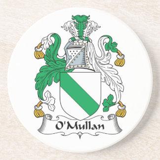 Escudo de la familia de O Mullan Posavasos Personalizados
