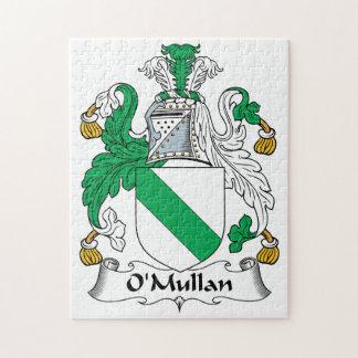Escudo de la familia de O Mullan Rompecabeza