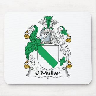 Escudo de la familia de O Mullan Alfombrillas De Ratón