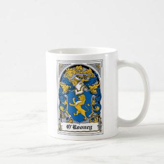 Escudo de la familia de O Rooney Taza De Café