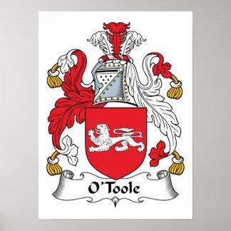Escudo de la familia de O Toole Impresiones