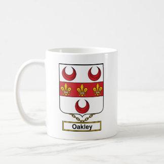 Escudo de la familia de Oakley Taza Clásica