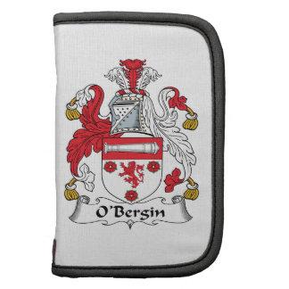 Escudo de la familia de O'Bergin Organizador