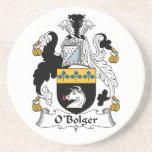 Escudo de la familia de O'Bolger Posavaso Para Bebida