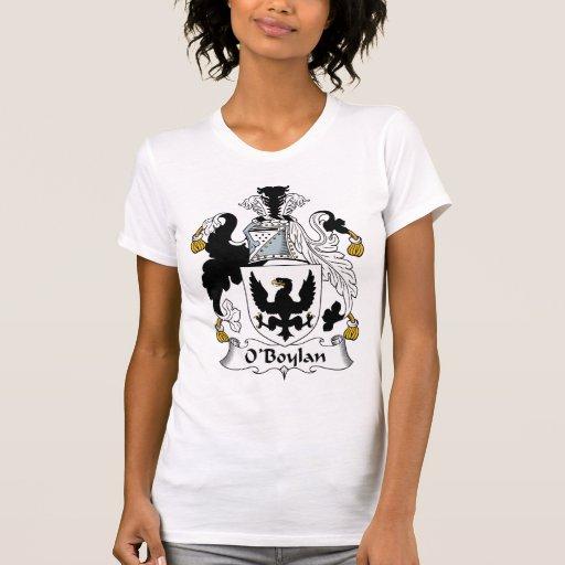 Escudo de la familia de O'Boylan Camisetas