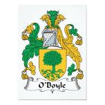 Escudo de la familia de O'Boyle Comunicados Personales