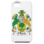 Escudo de la familia de O'Boyle iPhone 5 Protector