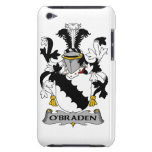 Escudo de la familia de O'Braden iPod Touch Case-Mate Cárcasa