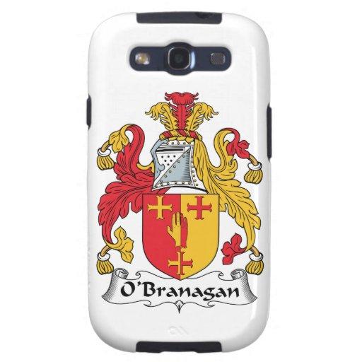 Escudo de la familia de O'Branagan Galaxy SIII Funda
