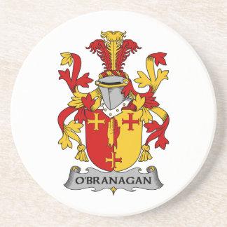 Escudo de la familia de O'Branagan Posavasos Diseño
