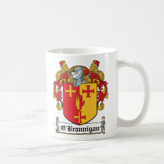 Escudo de la familia de O'Brannigan Taza De Café