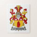 Escudo de la familia de O'Breen Puzzles Con Fotos