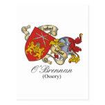Escudo de la familia de O'Brennan Postales