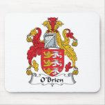 Escudo de la familia de O'Brien Tapete De Ratones