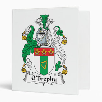 "Escudo de la familia de O'Brophy Carpeta 1"""