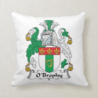 Escudo de la familia de O'Brophy Cojín