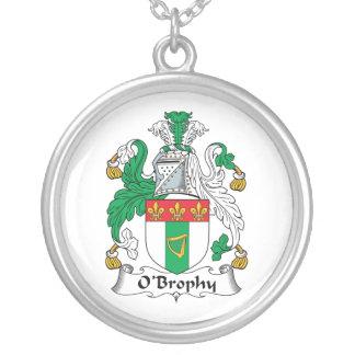 Escudo de la familia de O'Brophy Colgante Redondo