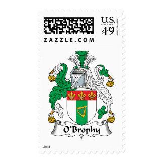 Escudo de la familia de O'Brophy Envio