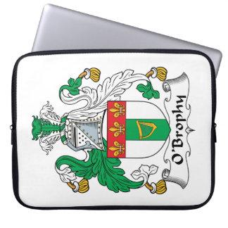 Escudo de la familia de O'Brophy Funda Computadora