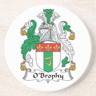 Escudo de la familia de O'Brophy Posavasos De Arenisca