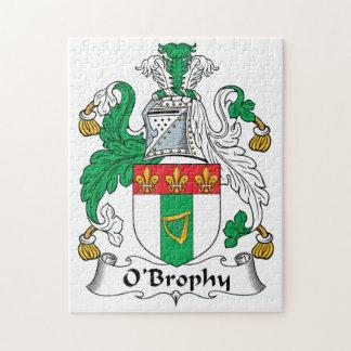 Escudo de la familia de O'Brophy Rompecabeza