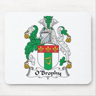 Escudo de la familia de O'Brophy Alfombrillas De Ratones
